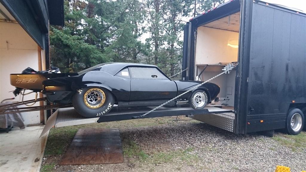 Motorsporten.dk   job & handel   solgt   scania 164 m/race trailer ...
