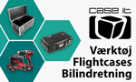 Case-IT - Specialbyggede flightcases, stormcases, peli cases og transportkasser.